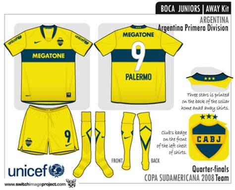 Boca Junior Away 201617 Berkualitas boca juniors uniforme