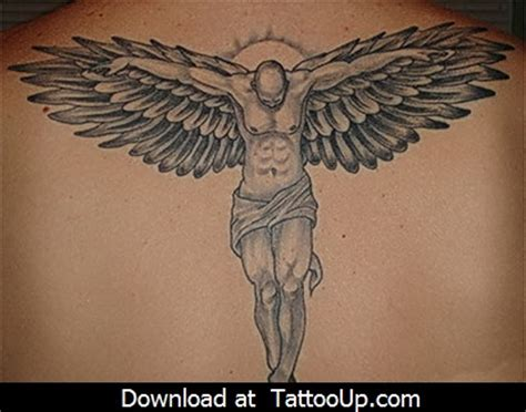 angel tattoo spread wings tribal angel tattoo designs angel tattoo angel tattoo