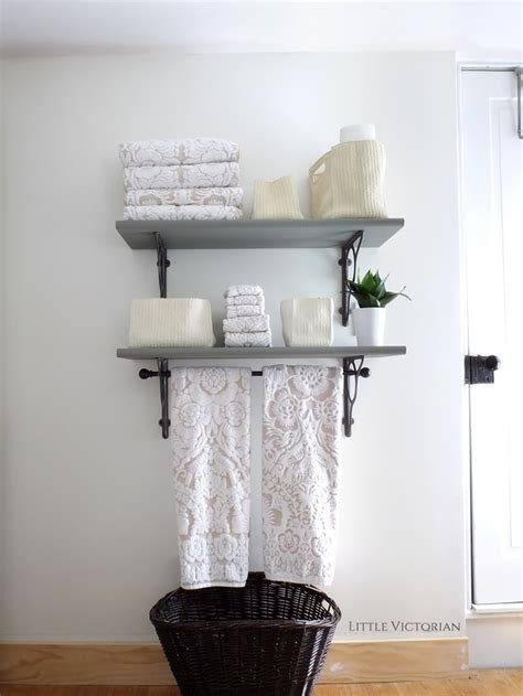 small bathroom wall shelf bathroom shelves little victorian