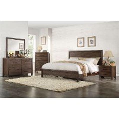 palencia rustic brown 6 piece cal king bedroom set rustic contemporary chocolate brown 6 piece king bedroom