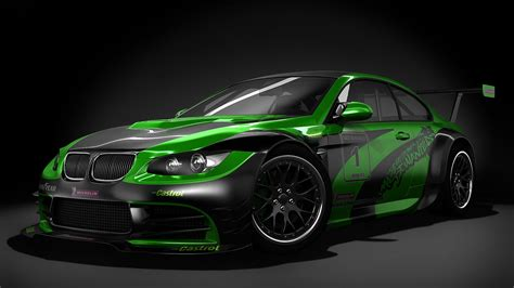 HD Hintergrundbilder bmw m3 sportwagen tuning grün