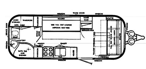airstream travel trailer floor plans travel trailer floor plans vintage airstream and travel
