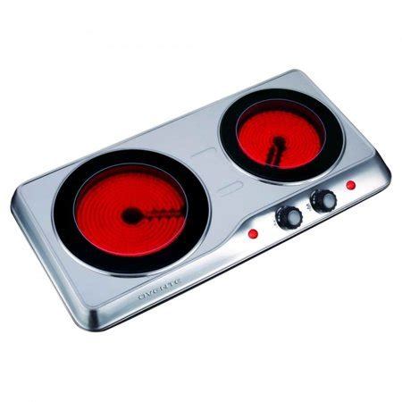 portable ceramic cooktop ovente countertop burner infrared ceramic glass