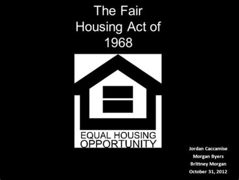 fair housing act of 1968 chapter 11 fair housing new jersey real estate for salespersons and brokers by marcia