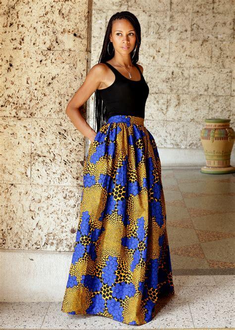 Afika Maxi by Print Maxi Skirt By M 233 Lange Mode Www Melangemode