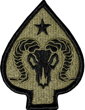 operational camouflage pattern unit patches ocp unit patch 17th sustainment with fastener