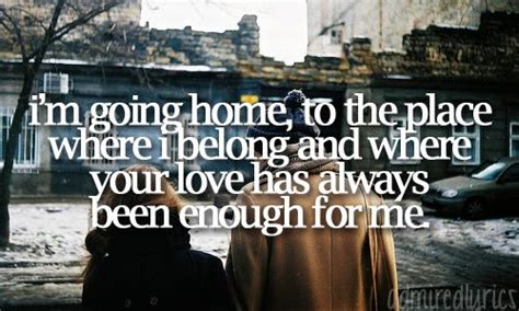 25 best ideas about home lyrics on home