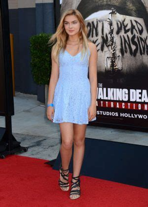 brighton sharbino feet brighton sharbino the walking dead attraction opening