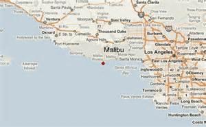 malibu california map malibu location guide