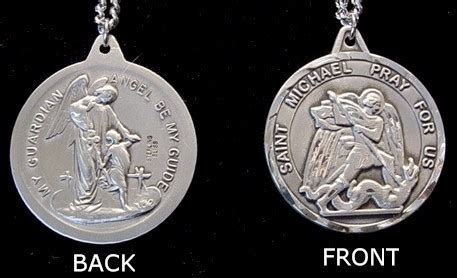 St Michael Medal For Officers by St Michael Medals Patron Of Officers
