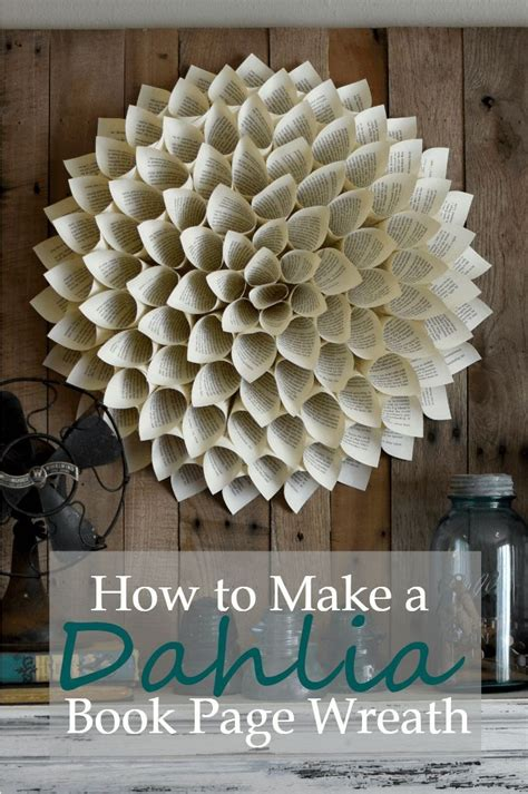 How To Make Paper Flowers Out Of Book Pages - best 20 book ideas on folded book
