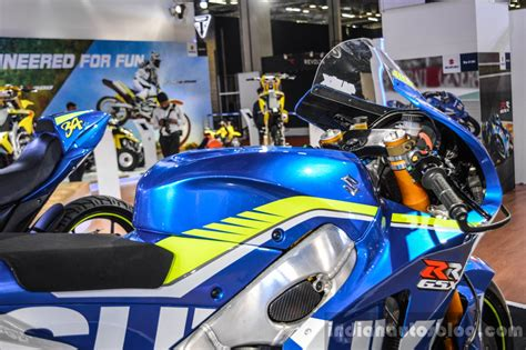 Ktm At Auto Expo 2016 by 2016 Suzuki Gsx Rr Motogp Bike Handlebar Guard At Auto