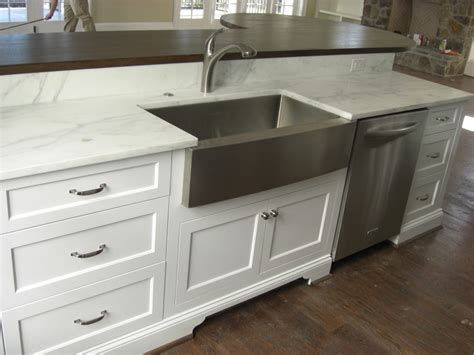 substantial wood kitchen island with apron sink single bright apron sink inspiration for kitchen eclectic