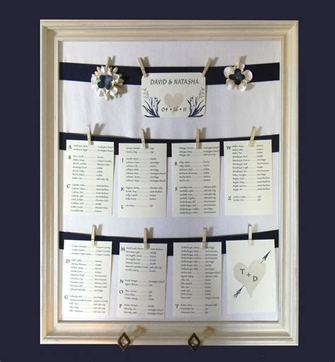 Best 25  Wedding table assignments ideas on Pinterest