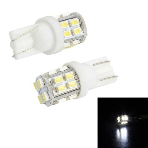 T10 20 Smd 1206 Led White Bright Xenon Light 1 merdia t10 3w 150lm 20 smd 1206 led white light canbus car license plate light 2 pcs 12v