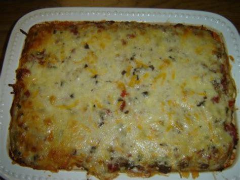 trisha yearwood s baked spaghetti recipe