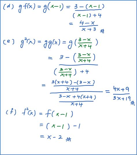 Composite Functions Worksheet With Answers by Composite Functions Math Worksheets Math Worksheet