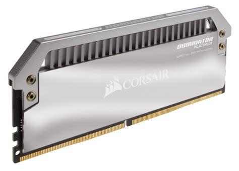 Ram Corsair Dominator Platinum corsair adds more premium to dominator platinum special edition ram