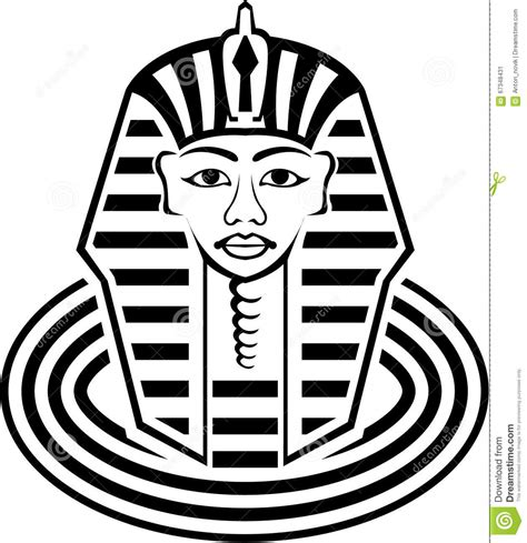 Pharaoh Outline by Clipart Pharaoh Pencil And In Color Clipart Pharaoh