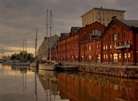 porto helsinki finlandia affascinante vita in cer