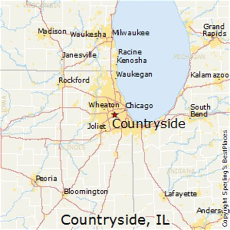 best places to live in countryside illinois