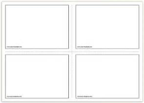 Template For Flash Cards Free by Free Printable Flash Cards Template