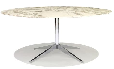 florence knoll table florence knoll 96 quot oval table hivemodern