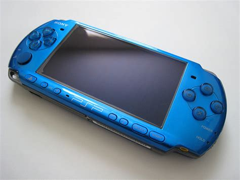 Psp Now Comes In Colours by Sony Psp 3000 Blue Hacked Just 19 Days Used 100