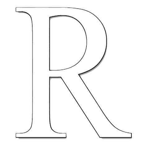 lettere da disegnare lettera r da colorare sta disegno di lettera r da