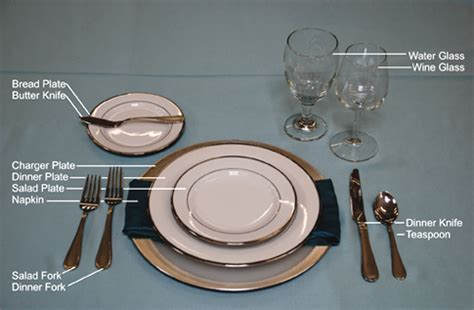 how to set up a table table settings