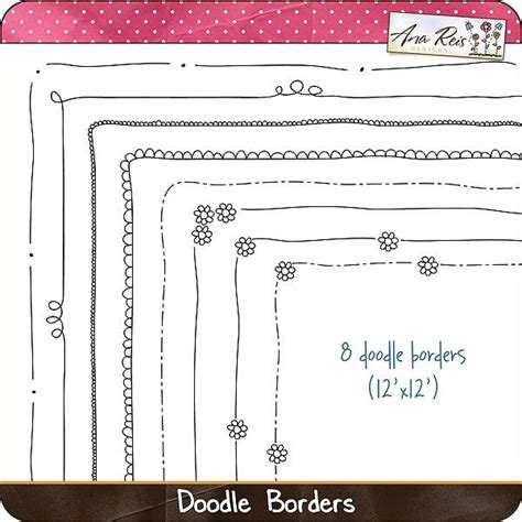 doodle border ideas border doodles studio ideas