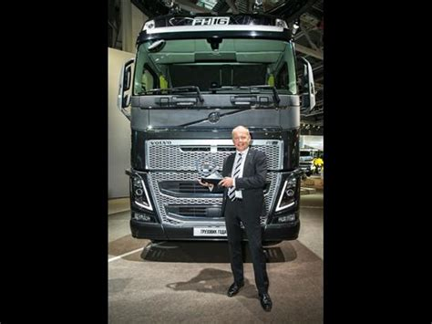 volvo truck of the year volvo fh eletto truck of the year