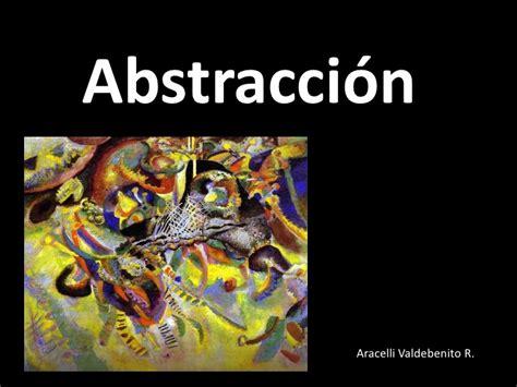imagenes iconicidad abstraccion abstracci 243 n ppt 1