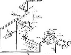 craftsman sears lawn tractor wiring diagram parts model 502255143 searspartsdirect