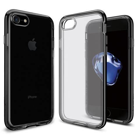 spigen iphone 7 neo hybrid black spigen neo hybrid skal till apple iphone 8 7 jet