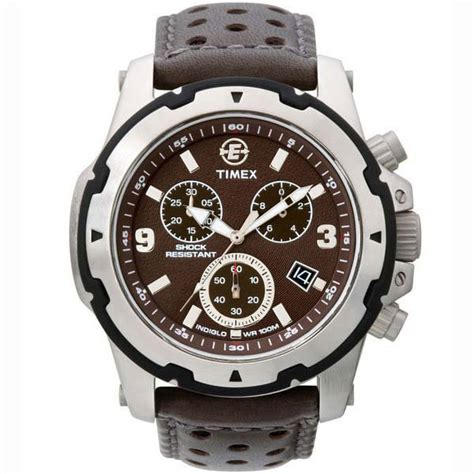 Timex Gents Expedition Rugged Field Chronograph 100m Brown Rugged Outdoor Watches