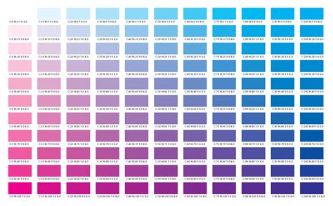 cmyk color chart colour charts cmyk real exles mpdf manual