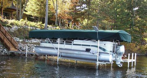 pontoon boat lift covers replacement canopy boat lift cover shoremaster 19x96 ebay