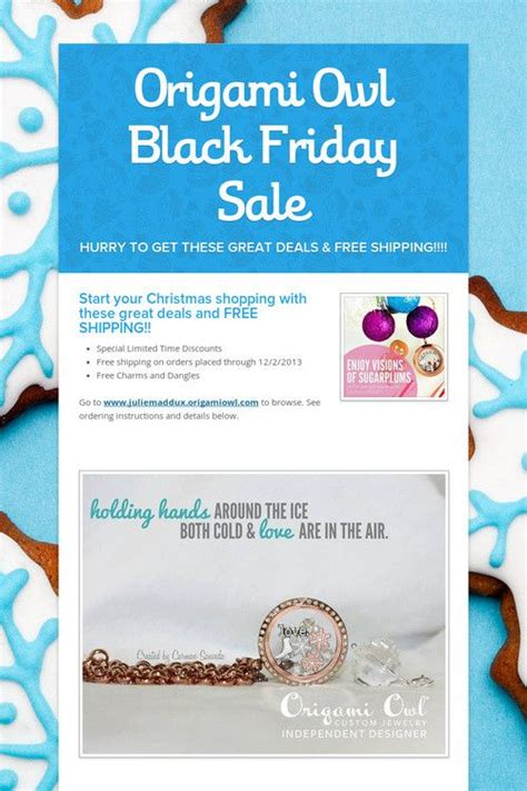 Origami Owl Sales - origami owl black friday sale e2lockets origamiowl