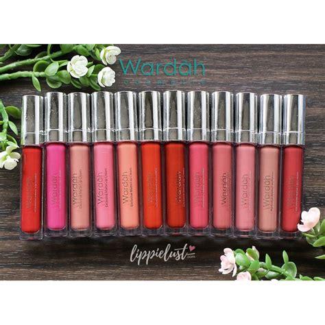 Lipstik Wardah Matte Semua Warna wardah exclusive matte lipstik wardah sale lengkap semua warna 1 18 shopee indonesia