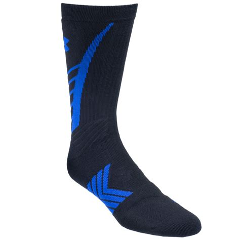 under armoir socks under armour socks men s black royal blue u470 blk ryl