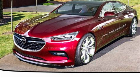 opel  monza concept sedan sport youtube