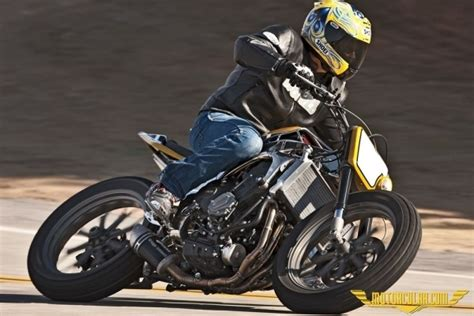 custom yamaha yzf  tracker modeli motorcularcom