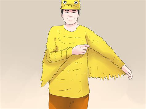 how to make a costume 5 ways to make a duck costume wikihow