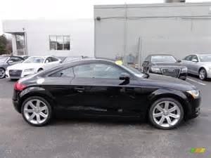 black 2008 audi tt 3 2 quattro coupe exterior photo
