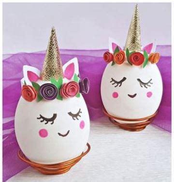 como pegar y decorar huevos de pascua originales ideas para decorar huevos de pascua