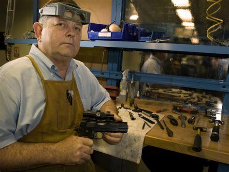 through the of a gunsmith master craftsman makes