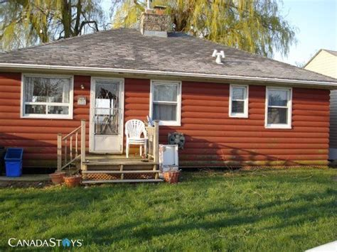 cottage on the lake port dover ontario 3 br vacation
