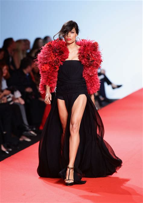 Runway To Carpet Rosario Dawsons Cannes Gown by Rosario Dawson Evening Dress Rosario Dawson Looks