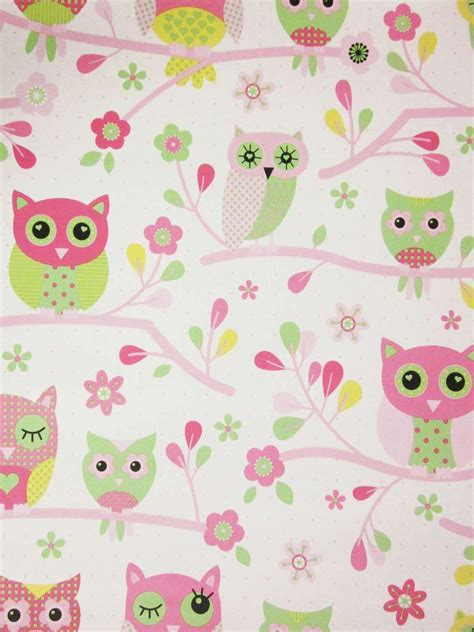 wallpaper pink owl country owls pink wallpaper izzy s new bedroom ideas